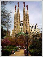 The Sagrada Familia - CC MorBCN sur Flickr